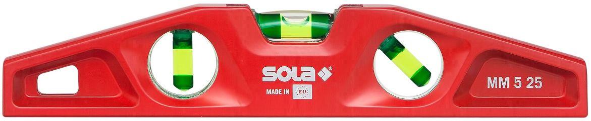 Уровень Sola Mm5 25см уровень sola big red 120см
