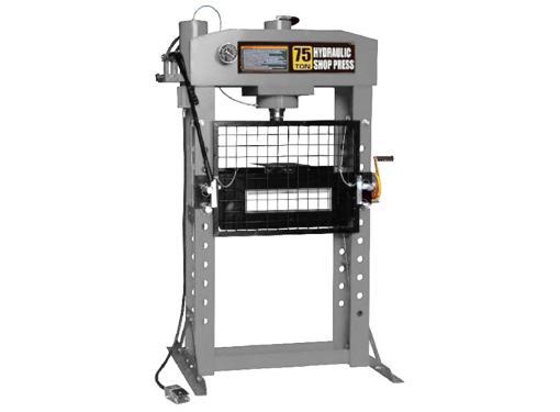 Напольный пневмогидравлический пресс 75 тонн WIEDERKRAFT WDK-80175