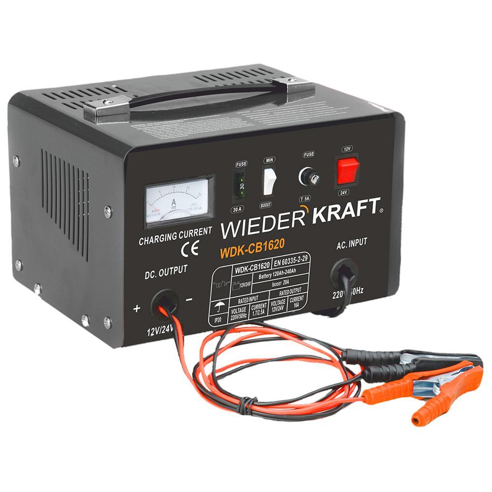 Зарядное устройство Wiederkraft Wdk-cb1620 аккумулятор для легкового автомобиля tyumen battery batbear 60ач 6ст 60la об