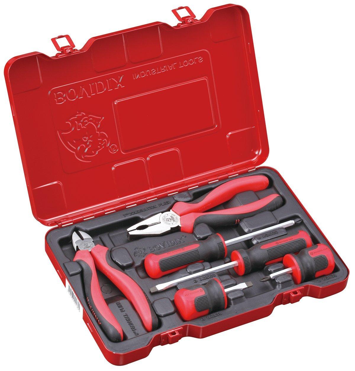 Универсальный набор инструментов Bovidix 288400604 универсальный обойный нож truper nsm 6 16949