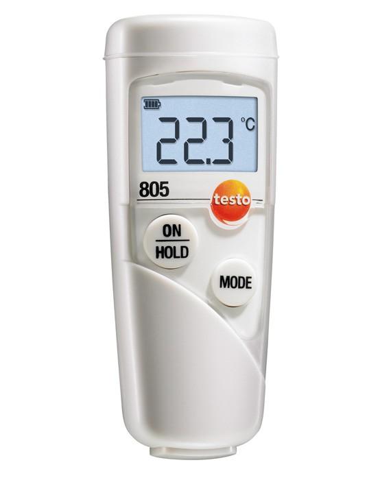 Термометр Testo 805 с чехлом topsafe вакуумметр testo 552