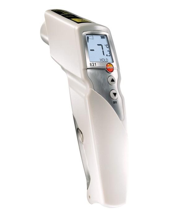 Пирометр (термодетектор) Testo 831 бесконтактный термометр testo 831