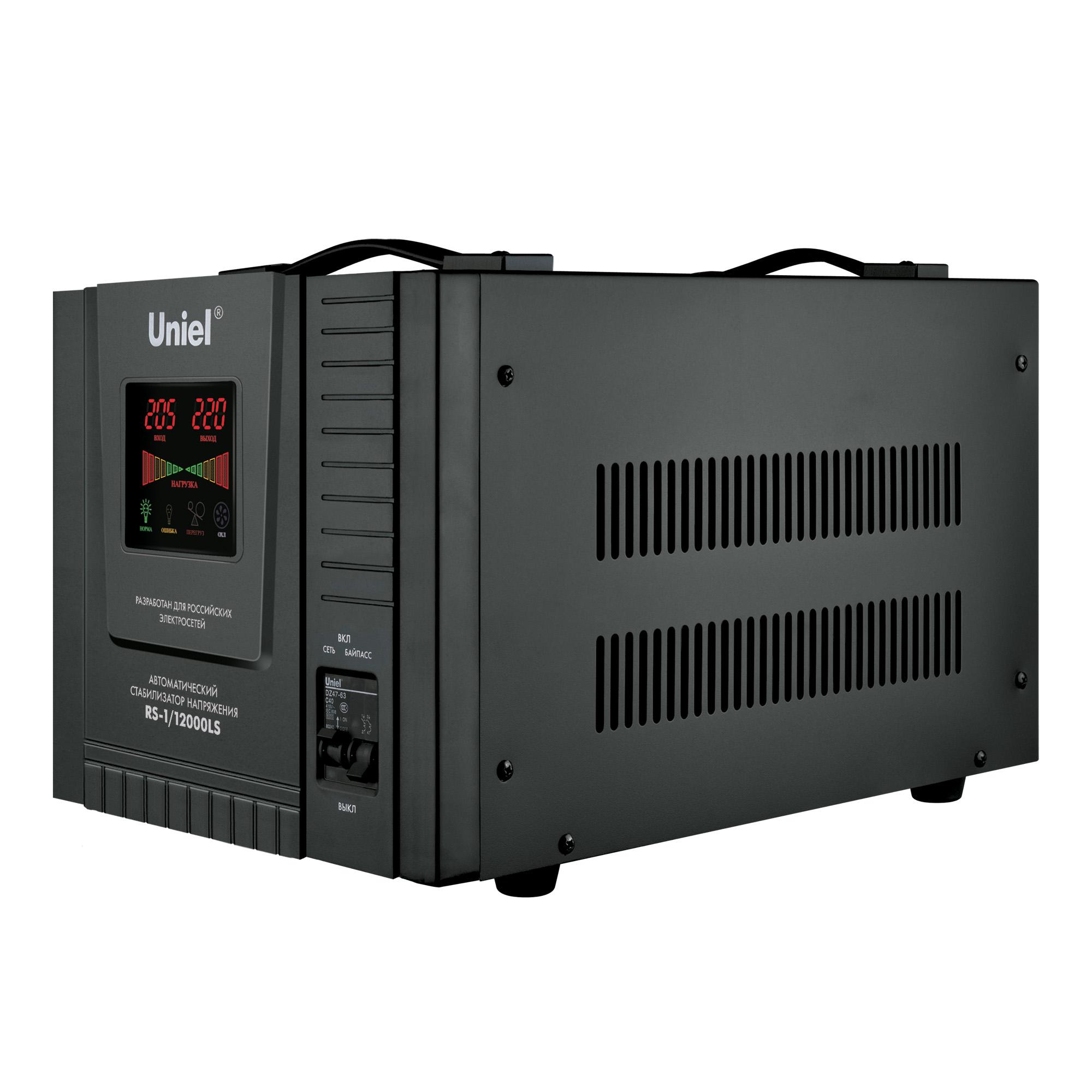Стабилизатор напряжения Uniel Rs-1/12000ls