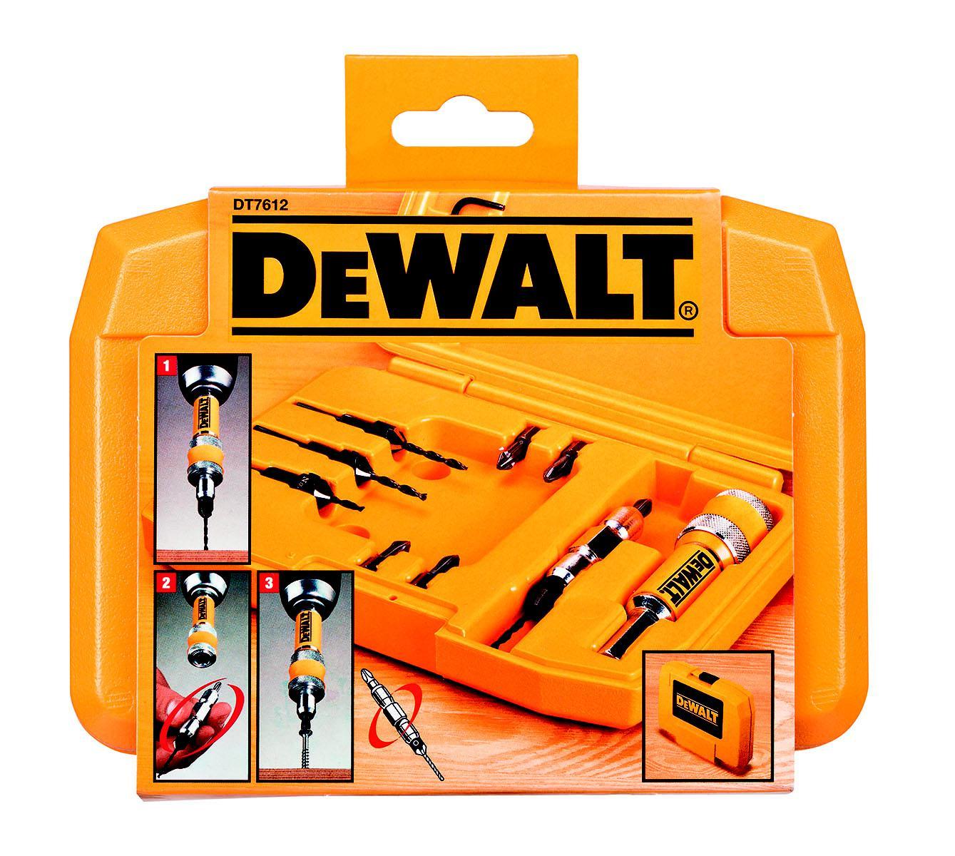 Набор насадок для дрели Dewalt Dt7612xj дрель акк dewalt dcd778s2t qw набор насадок для дрели dt7612xj