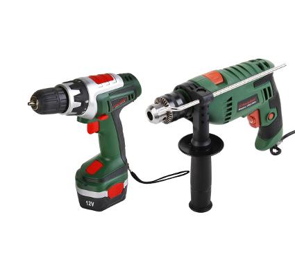 Набор: Дрель аккумуляторная HAMMER Flex ACD121A + Дрель ударная Hammer Flex UDD550A