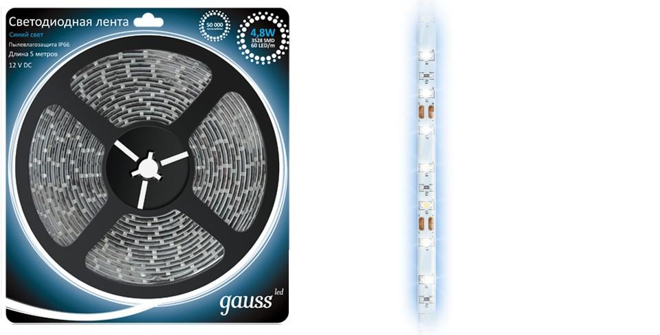 Световая лента Gauss Eb311000505 лента светодиодная gauss 312000107
