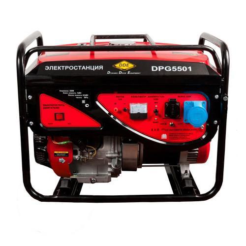 Бензиновый генератор Dde Dpg5501 цена и фото