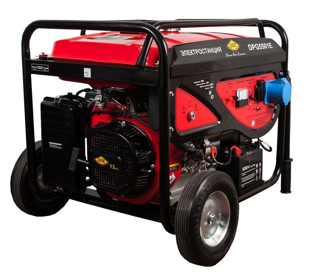 Бензиновый генератор Dde Dpg5501e цена и фото