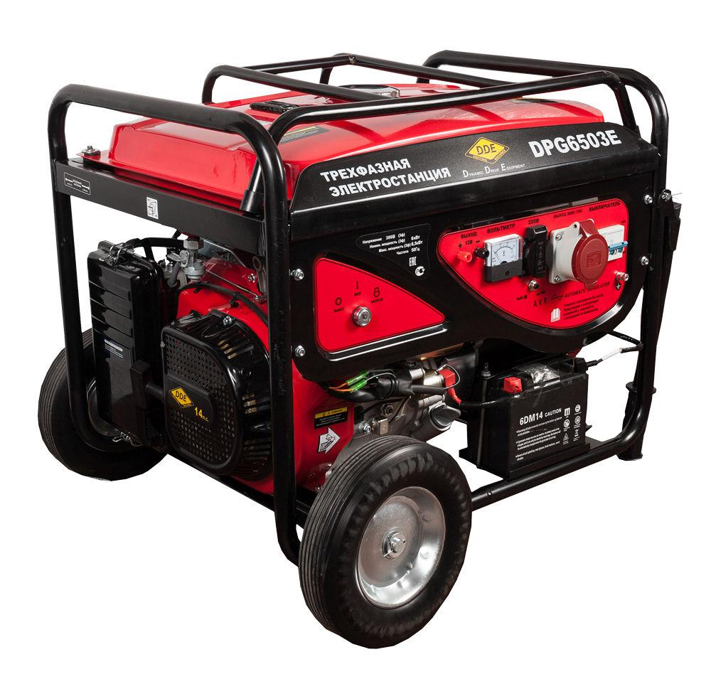 Бензиновый генератор Dde Dpg6503e бензиновый генератор dde dpg4501