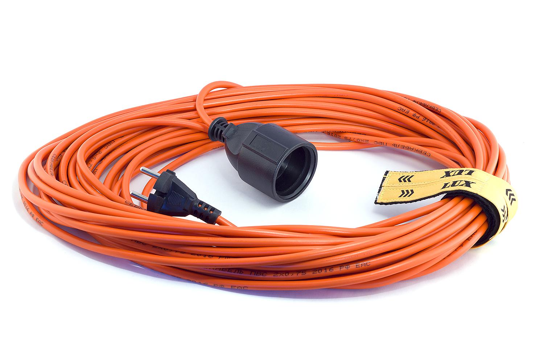 Удлинитель Lux УС1-Е-10 удлинитель lux ус1 е 30 у 161 30030