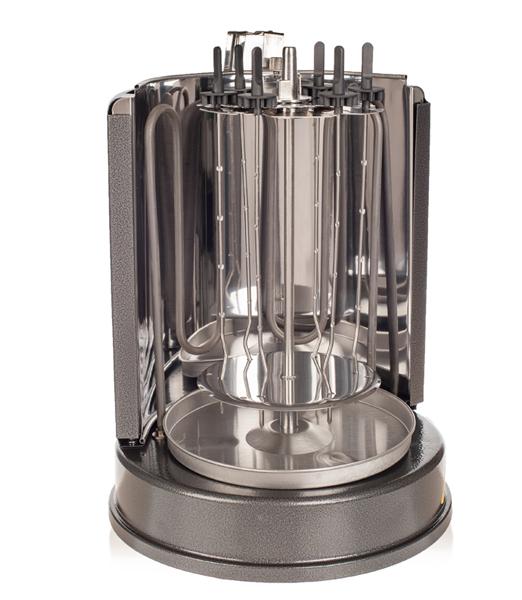Шашлычница Kitfort КТ-1404 шашлычница электрическая kitfort kt 1403 1000вт серебристый оранжевый