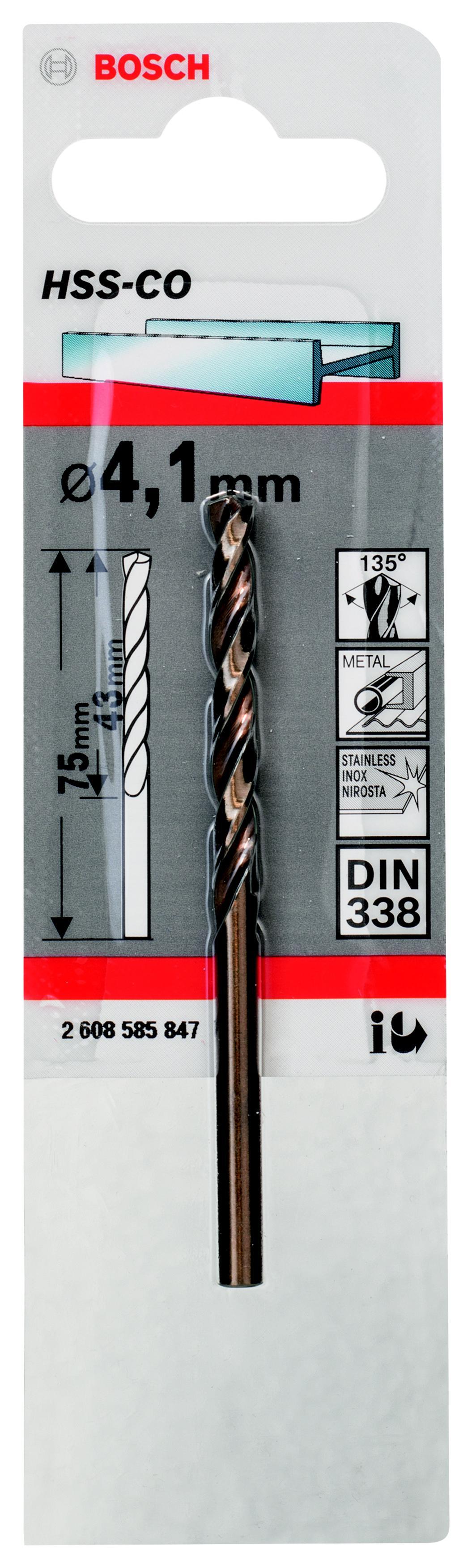 Сверло Bosch 1 hss-co (2.608.585.847) аксессуары veld co набор переводных татуировок черепа