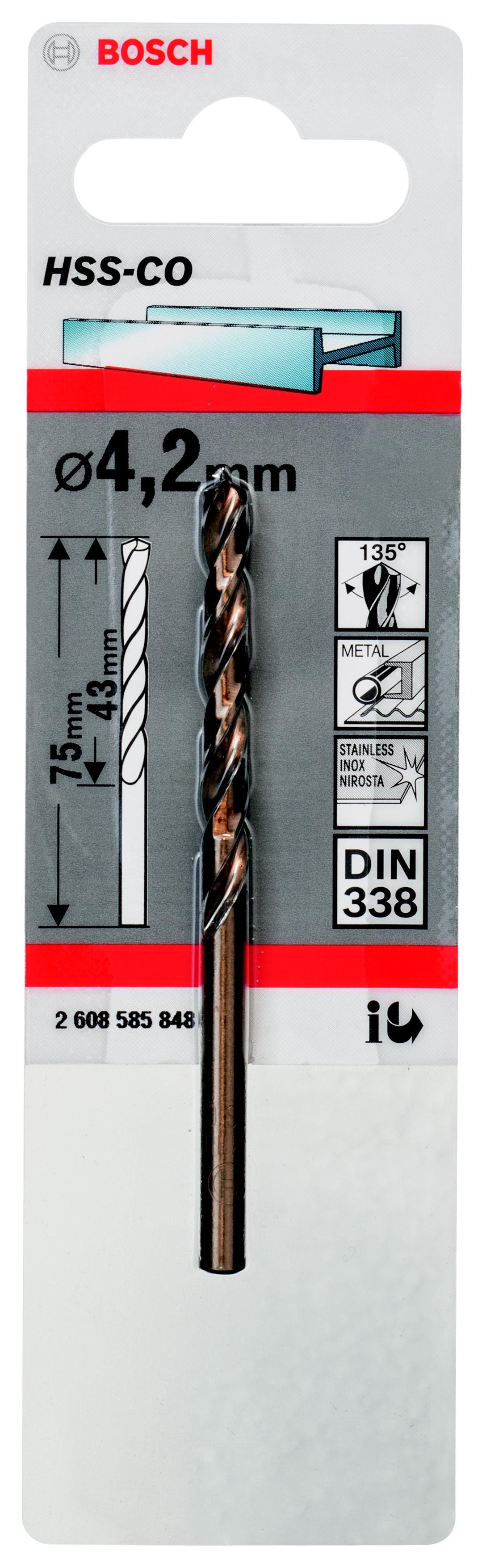 Сверло Bosch 1 hss-co (2.608.585.848) аксессуары veld co набор переводных татуировок черепа