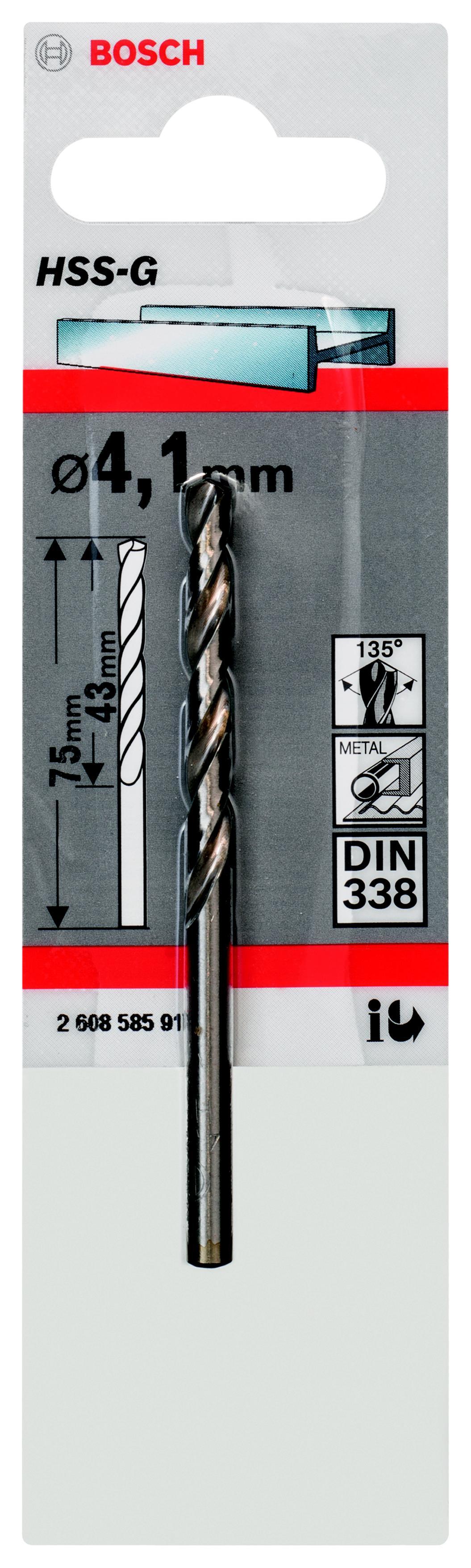 Купить Сверло Bosch 1 hss-g (2.608.585.917)
