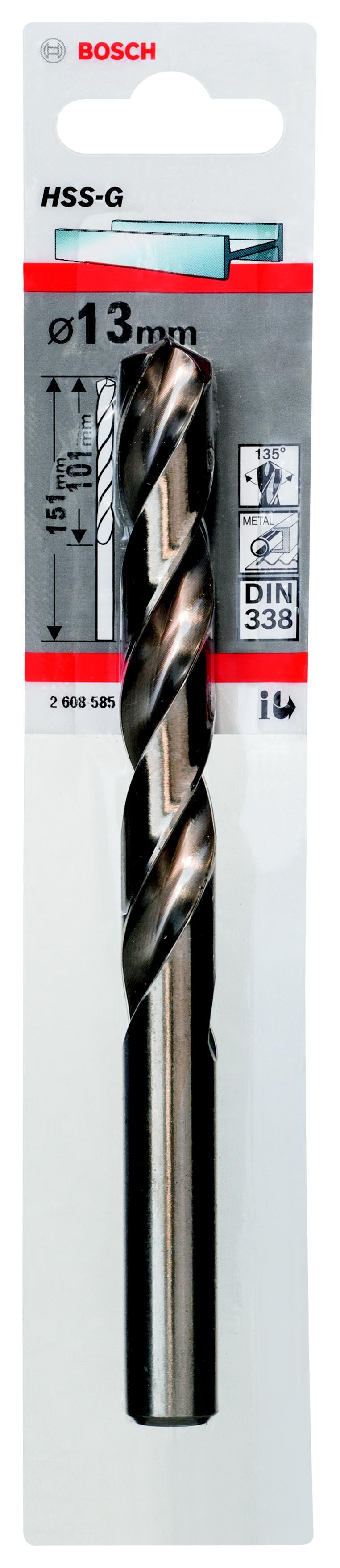 Сверло Bosch 1 hss-g (2.608.585.942) bosch 2608585910 2 hss g сверла 2 6мм