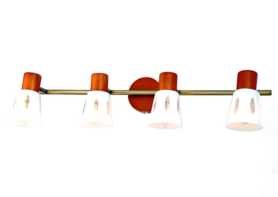 Бра Rivoli Argo-w/c-4xe14-40w-antique brass (4) гарнитуры душевые argo набор для биде лейка шланг кронштейн argo dina блистер