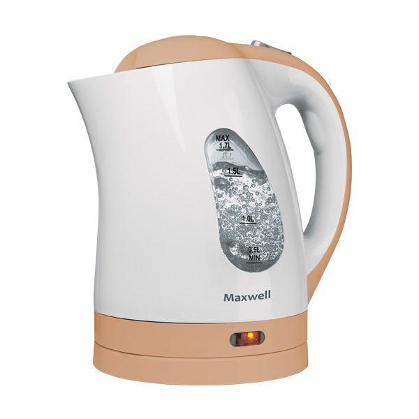 Чайник Maxwell Mw-1014(bn) выпрямитель maxwell mw 2211 bn