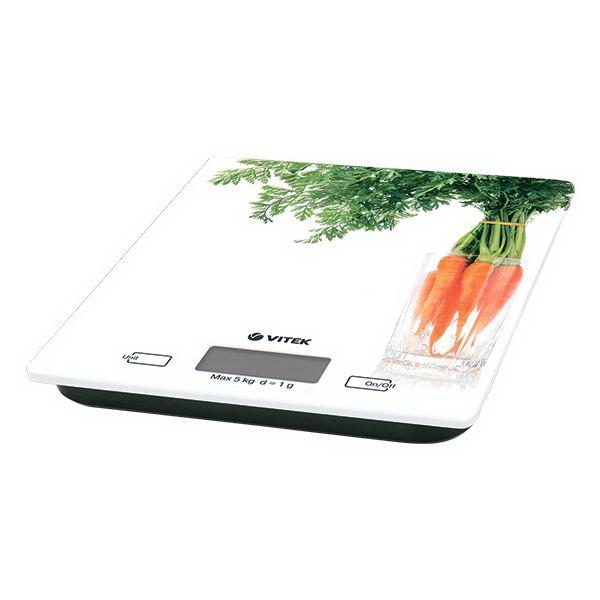 Весы кухонные Vitek Vt-2418(w) кухонные весы vitek кухонные весы vitek vt 8018 w