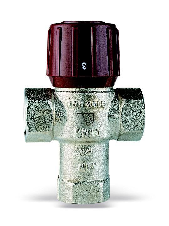 Клапан Watts Aquamix am61c34 watts перепускной клапан usvr 25