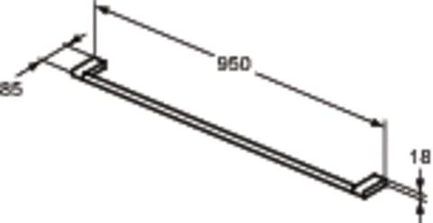 Полотенцедержатель Ideal standard E6984 от 220 Вольт