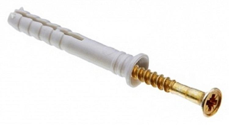 Дюбель-гвоздь Tech-krep 101330 дюбель с шипами tech krep 6х30 мм цвет синий 1000 шт