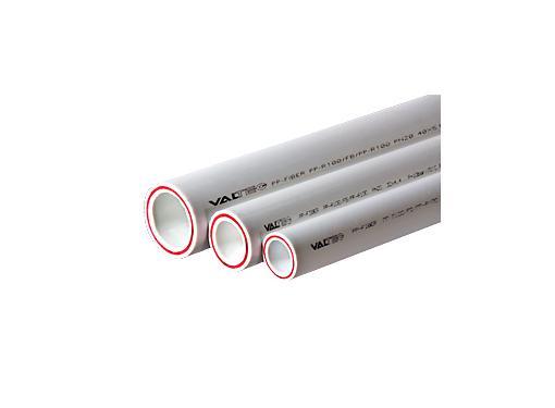 Труба полипропиленовая VALTEC 20 мм 2 м армированная стекловолокном