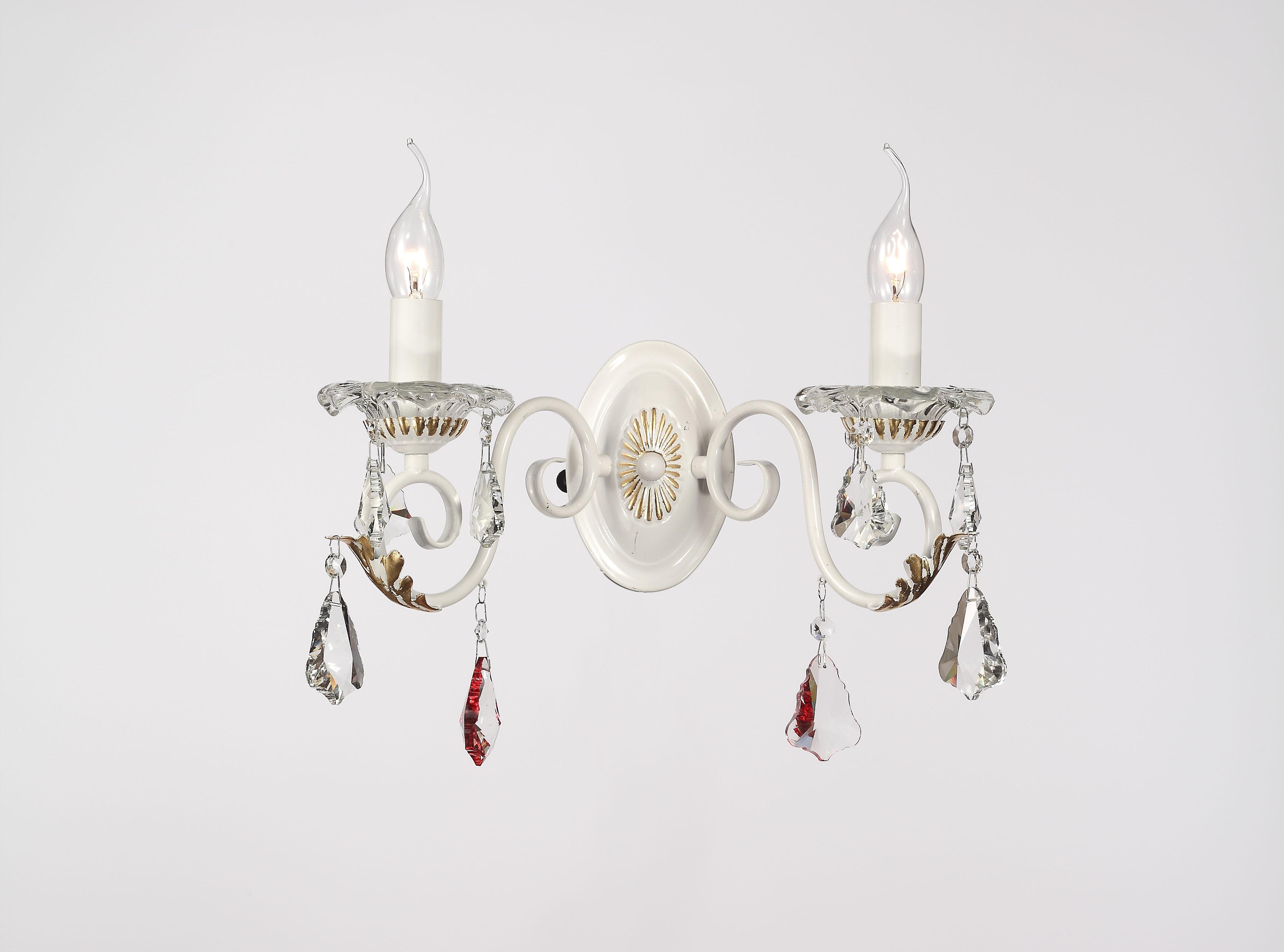 Бра Lamplandia 8952-2 princessa anna люстра lamplandia daria 3х40вт е14 металл темно коричневый