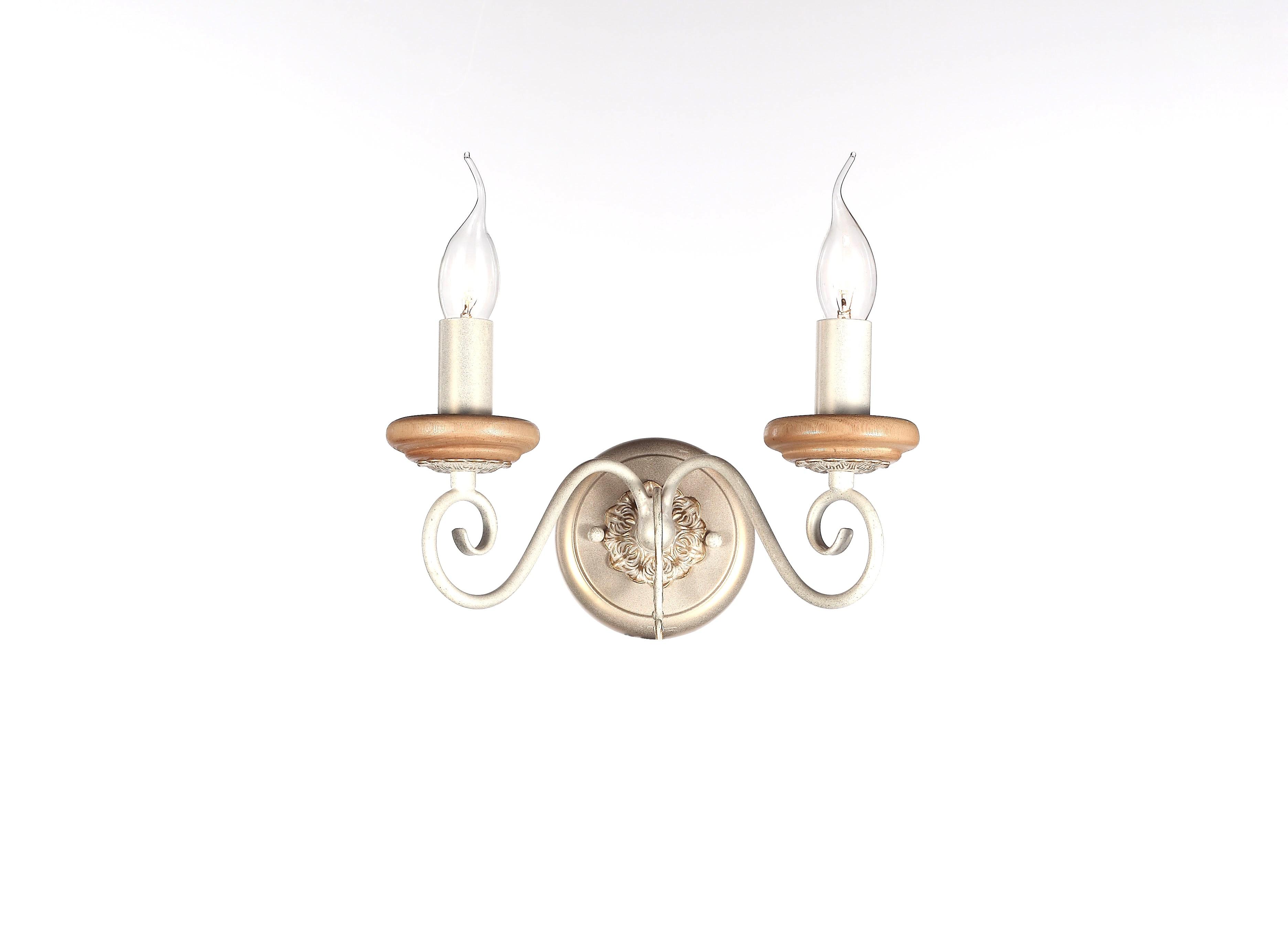 Бра Lamplandia 8599-2 rigato люстра lamplandia daria 3х40вт е14 металл темно коричневый