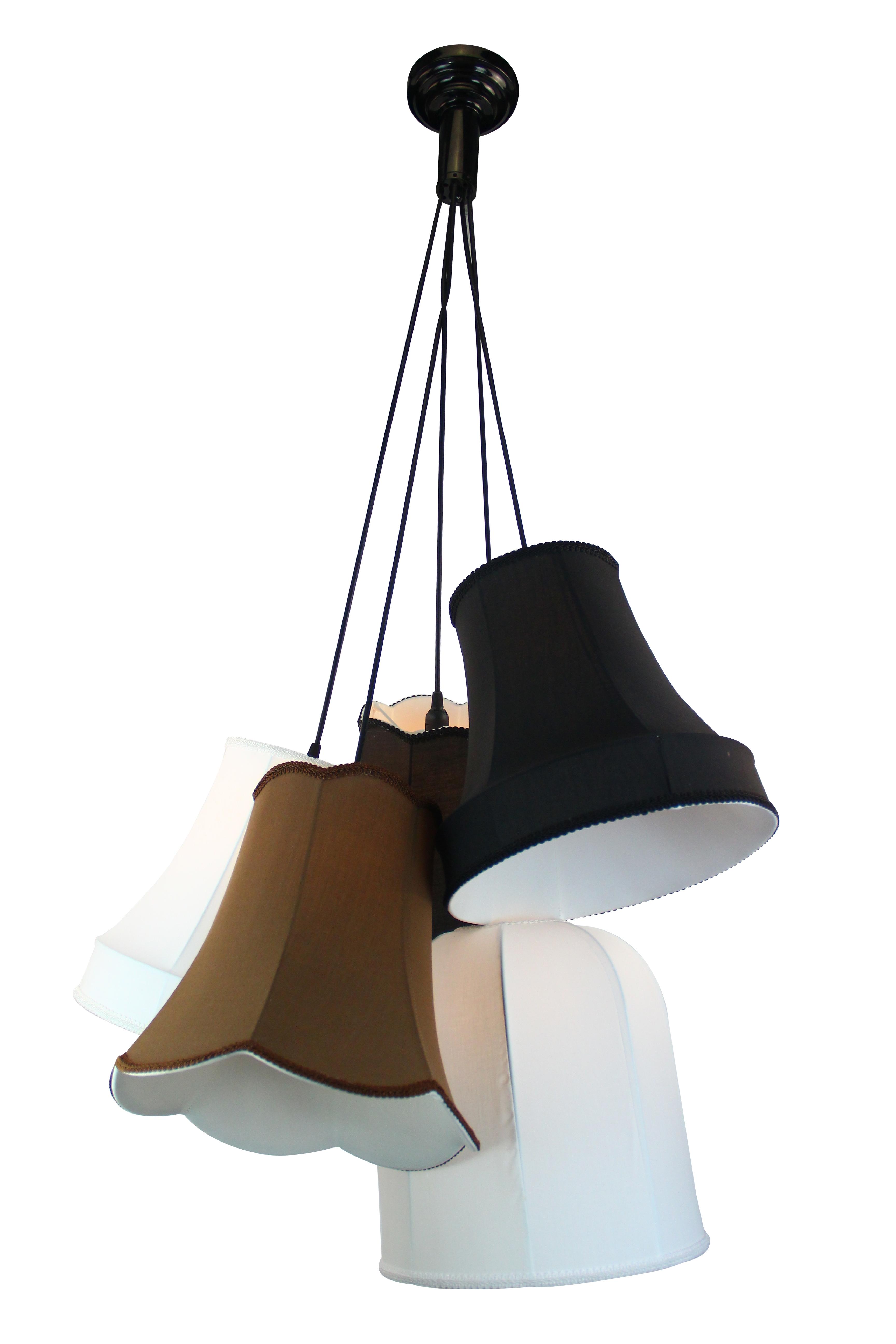 Люстра Lamplandia 9212-5 ella люстра lamplandia daria 3х40вт е14 металл темно коричневый