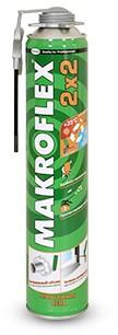 Пена монтажная Makroflex 2x2 ВСЕСЕЗОННАЯ пена makroflex 2050726 всесезонная пистолетная 750мл