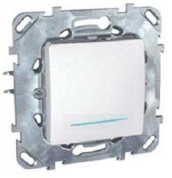 Механизм выключателя Schneider electric Mgu5.201.18nzd unica механизм розетки schneider electric unica с у с заземлением белый