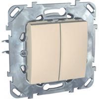 Механизм выключателя Schneider electric Mgu5.211.25zd unica механизм выключателя двухклавишного schneider electric unica с у бежевый