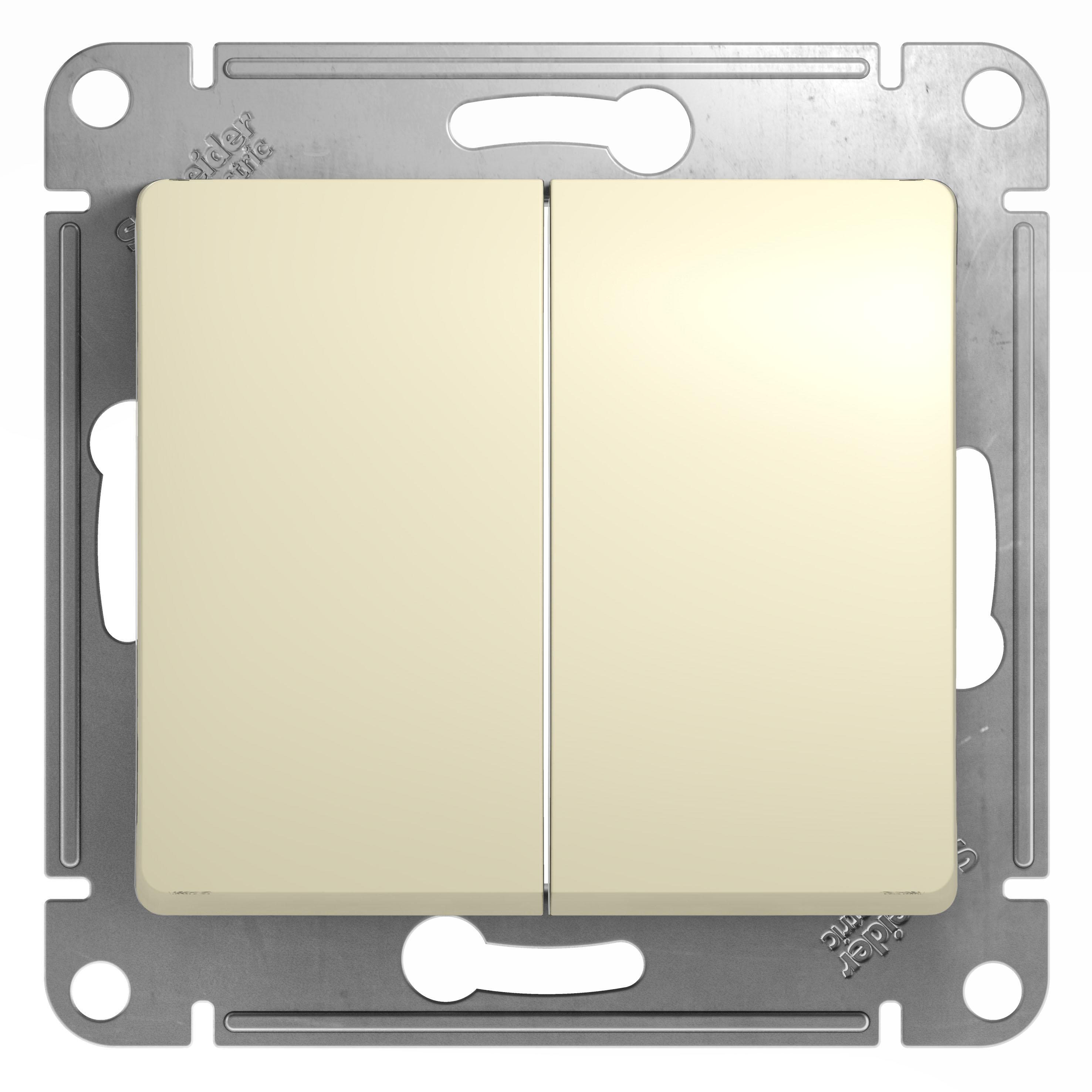 Механизм выключателя Schneider electric Gsl000251 glossa механизм выключателя schneider electric glossa белый 1 клавишный с подсветкой gsl000113