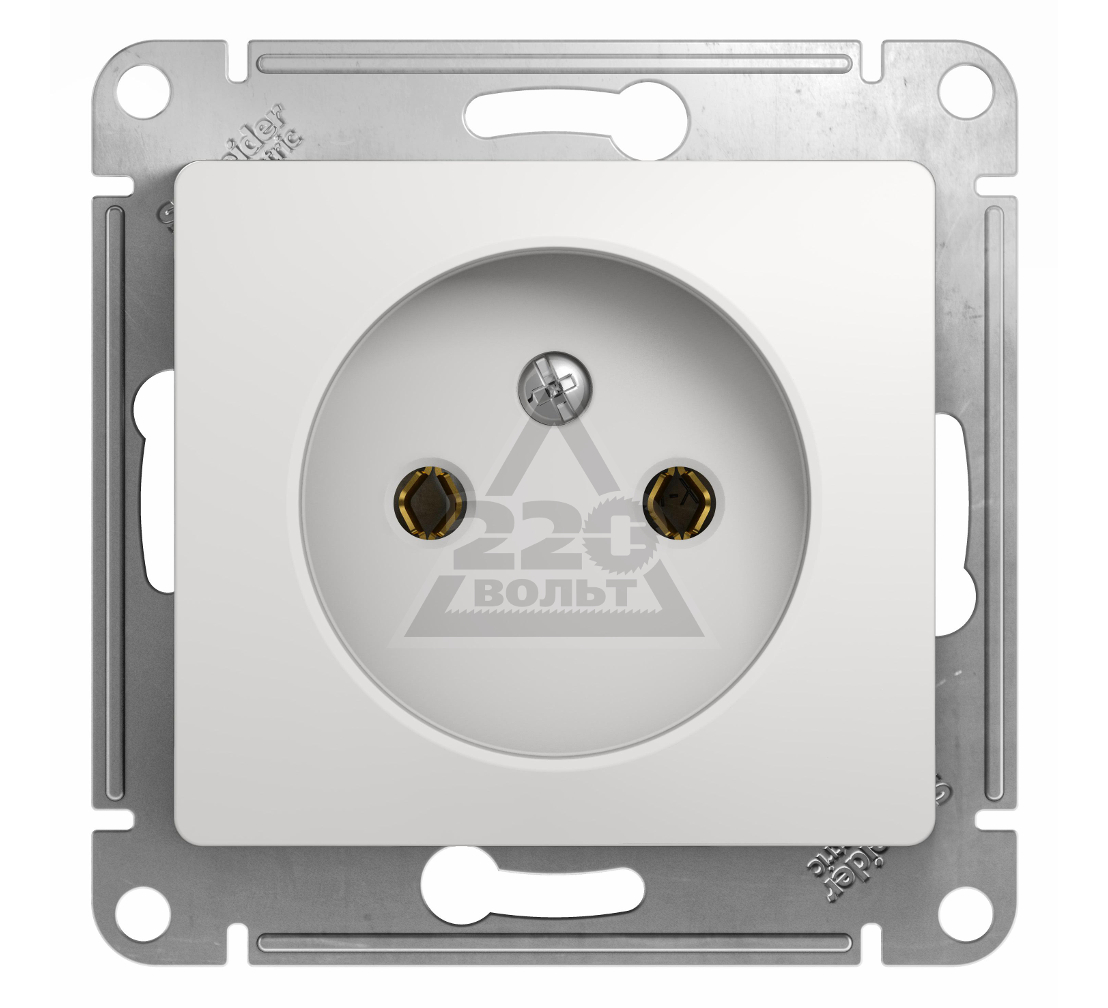 Механизм розетки SCHNEIDER ELECTRIC GSL000141 Glossa
