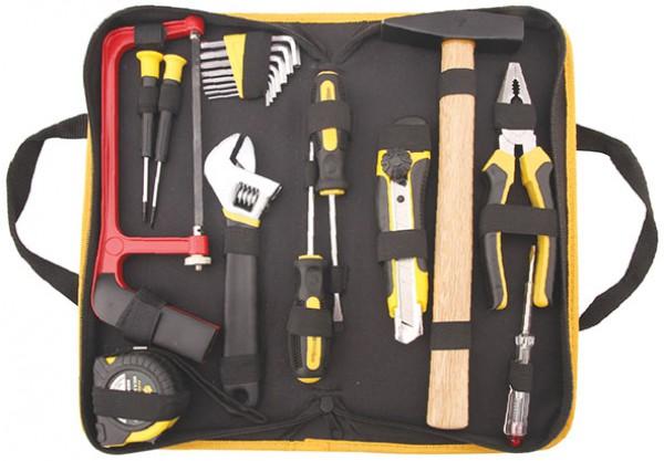 Универсальный набор инструментов Fit 65132 ключ разводной хромированный truper 20 3 см
