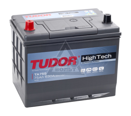Аккумулятор TUDOR High-Tech TA 755
