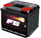 Аккумулятор автомобильный FIRE BALL 55 P