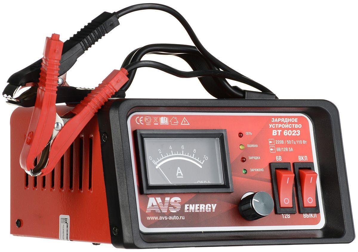 Зарядное устройство Avs Bt-6023 аккумулятор для легкового автомобиля tyumen battery batbear 60ач 6ст 60la об