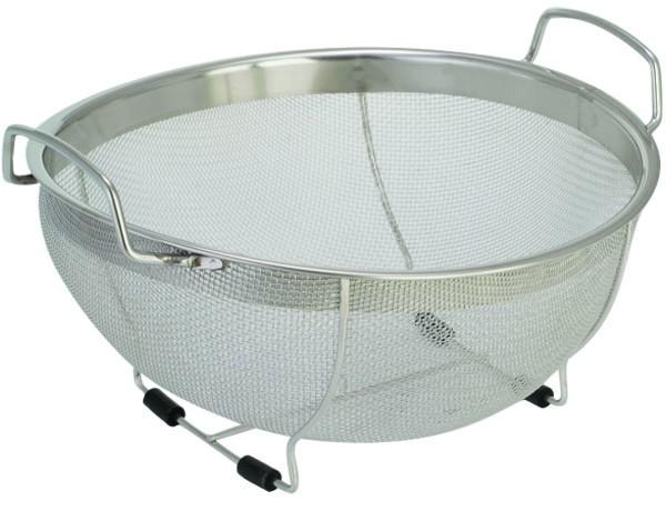 Дуршлаг Regent inoxАксессуары кухонные<br>Тип: дуршлаг,<br>Материал: нерж.сталь,<br>Длина (мм): 330<br>
