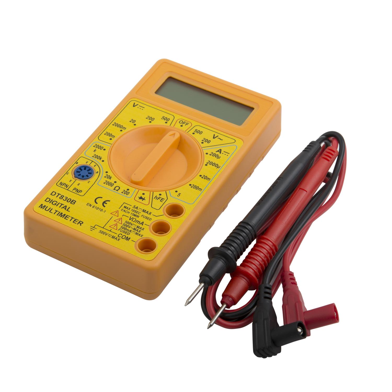 Мультиметр Electraline 59002  защитная коробка для соединительных проводов electraline 300176