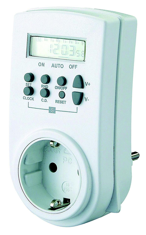 Таймер Electraline 59501 удлинитель electraline 62011