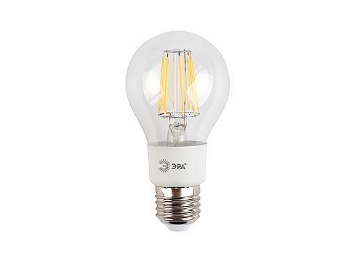 Лампа светодиодная ЭРА F-LED A60-5w-827-E27 филаментная