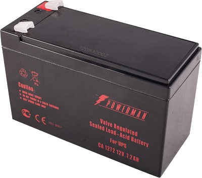 Аккумулятор для ИБП Powerman Ca1272 pm/ups батарея powerman ca1272 12v 7 2ah