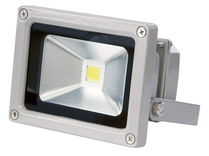 Прожектор светодиодный Jazzway Pfl-20w/rgb-rc/gr led прожектор эра ip65 20w 230v холодный свет