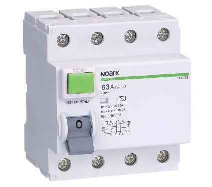 УЗО NOARK Ex9CL-N 4P 25A