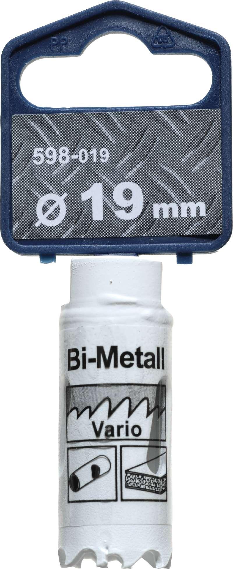 Коронка биметаллическая Kwb 598-019 коронка биметаллическая kwb 598 060