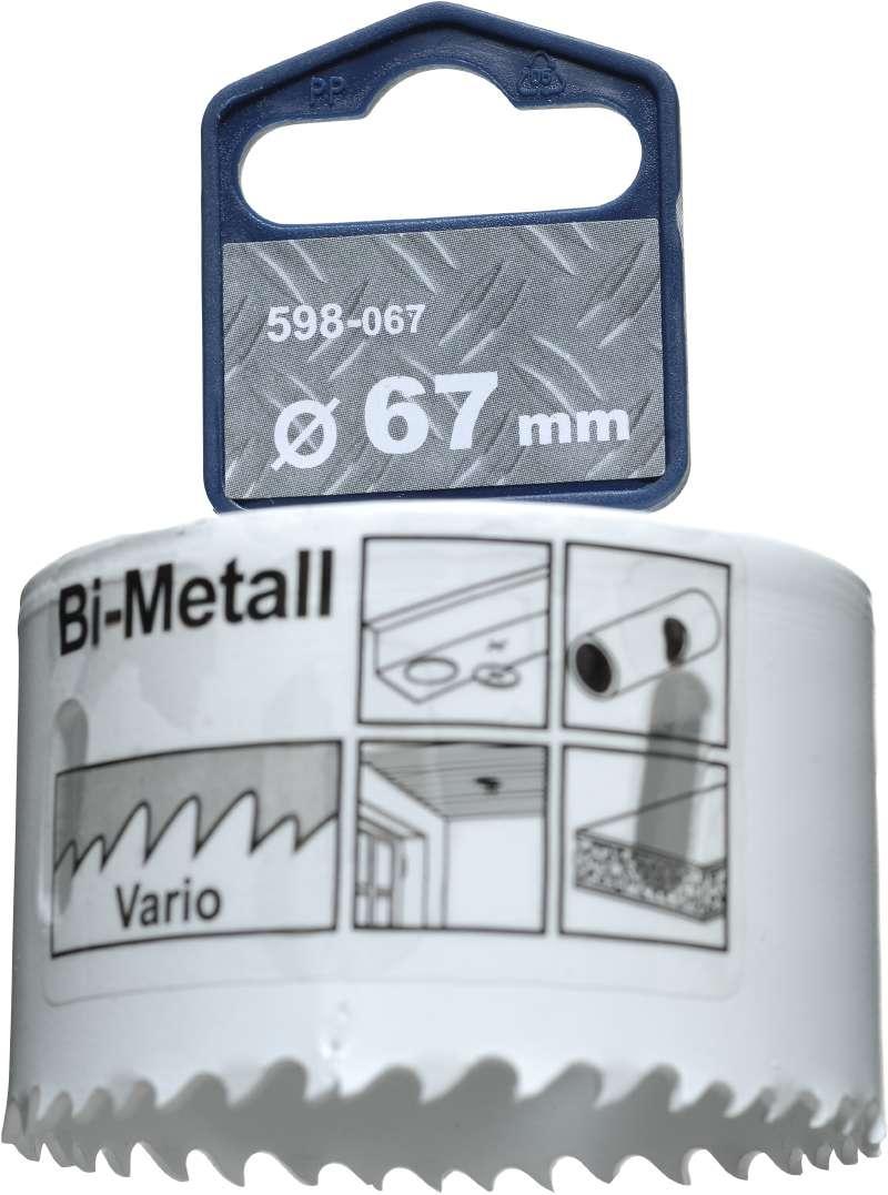 Коронка биметаллическая Kwb 598-067 плоская отвертка 6 5x25 kwb 666 067