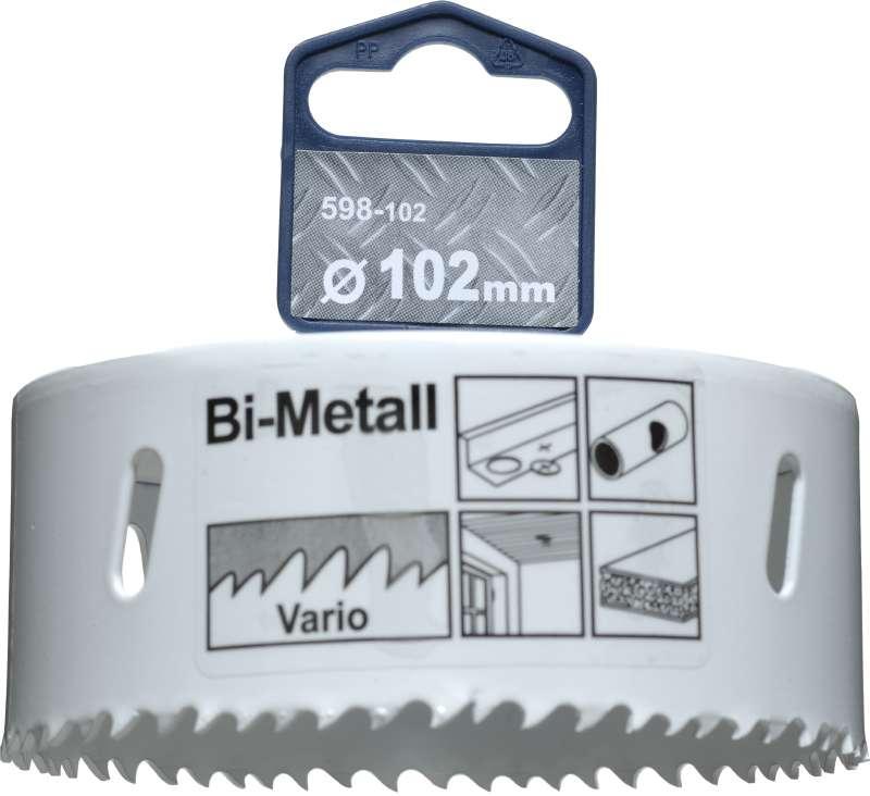Коронка биметаллическая Kwb 598-102 коронка биметаллическая kwb 598 030