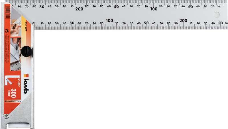 Угольник Kwb 067-300 плоская отвертка 6 5x25 kwb 666 067