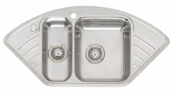 Мойка кухонная Reginox Kansas 18x40 small lux 3.5 (c/box) l